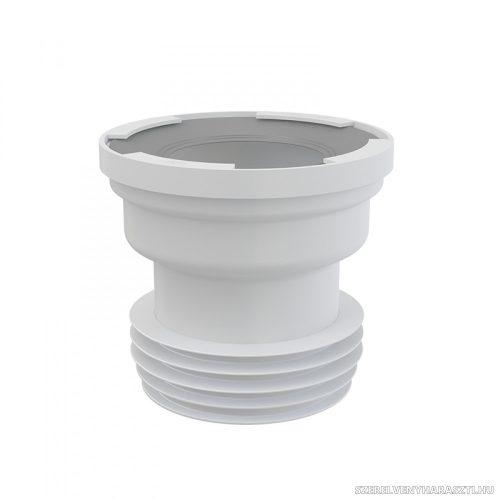 Közvetlen csatlakozó a WC-hez
