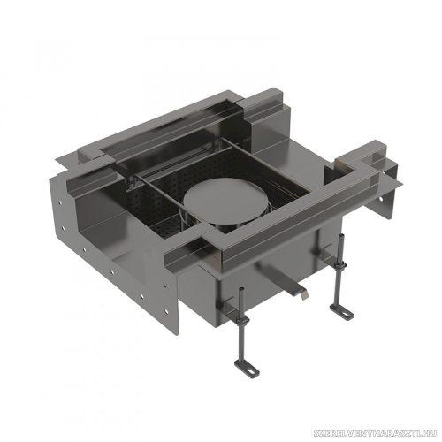 Ipari rozsdamentes padlóösszefolyó AISI 316L