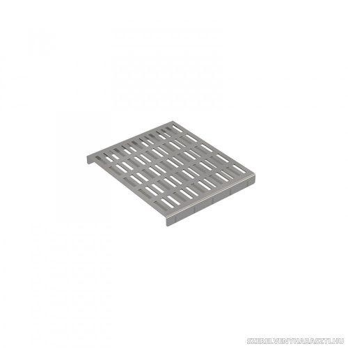 Fedrács az APR2 ipari padlóösszefolyóhoz AISI 304 rozsdamentes acél