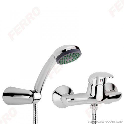 ANCONA zuhanycsaptelep fali tartós zuhanyszettel