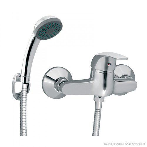 VASTO zuhanycsaptelep fali tartós zuhanyszettel