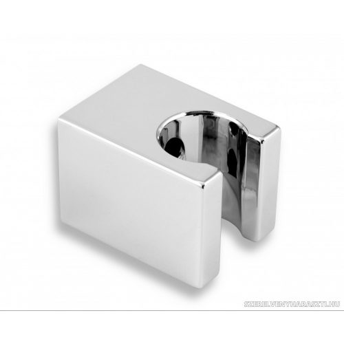szögletes műanyag fali zuhanytartó