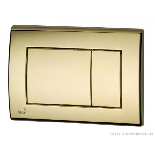 Nyomólap a falsík alatti szerelési rendszerekhez, arany-fényes