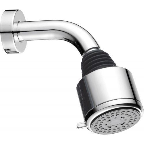 2 funkciós fejzuhany, gömbcsuklós fali zuhanykarral