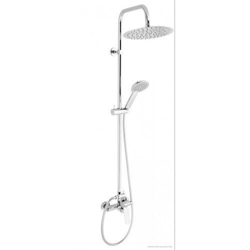 Zuhanyrendszer felső kimenetes zuhanycsapteleppel 38062