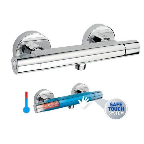 TRINITY termosztátos zuhanycsaptelep Safe Touch