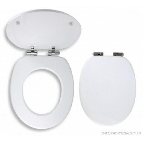 soft close fehér wc ülőke easy click, MDF