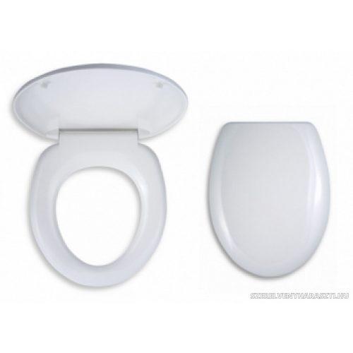 fehér univerzális wc ülőke, duroplaszt